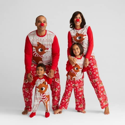 Get matching family Christmas pajamas for a unique and fun holiday! These jammies are perfect for holiday cards and family photos. 15 different styles!