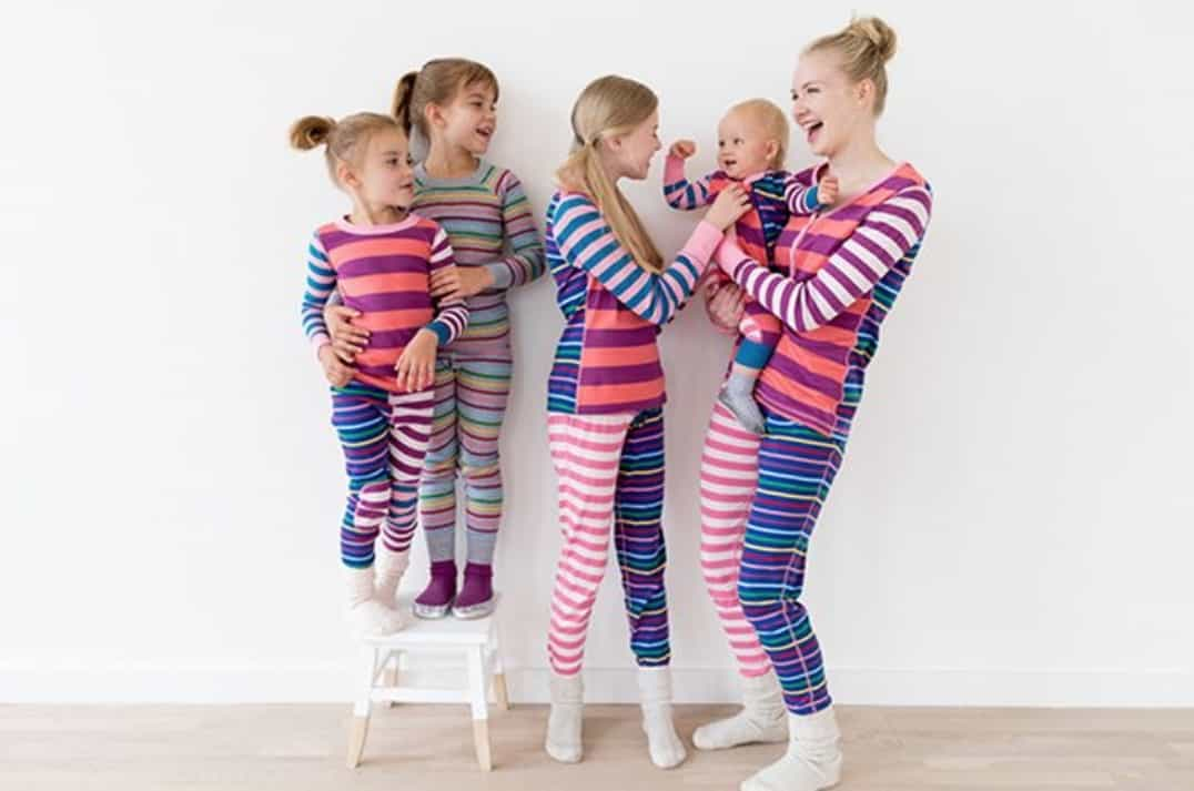 Hanna Andersson striped pajamas