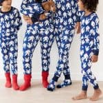 matching family holiday pajamas