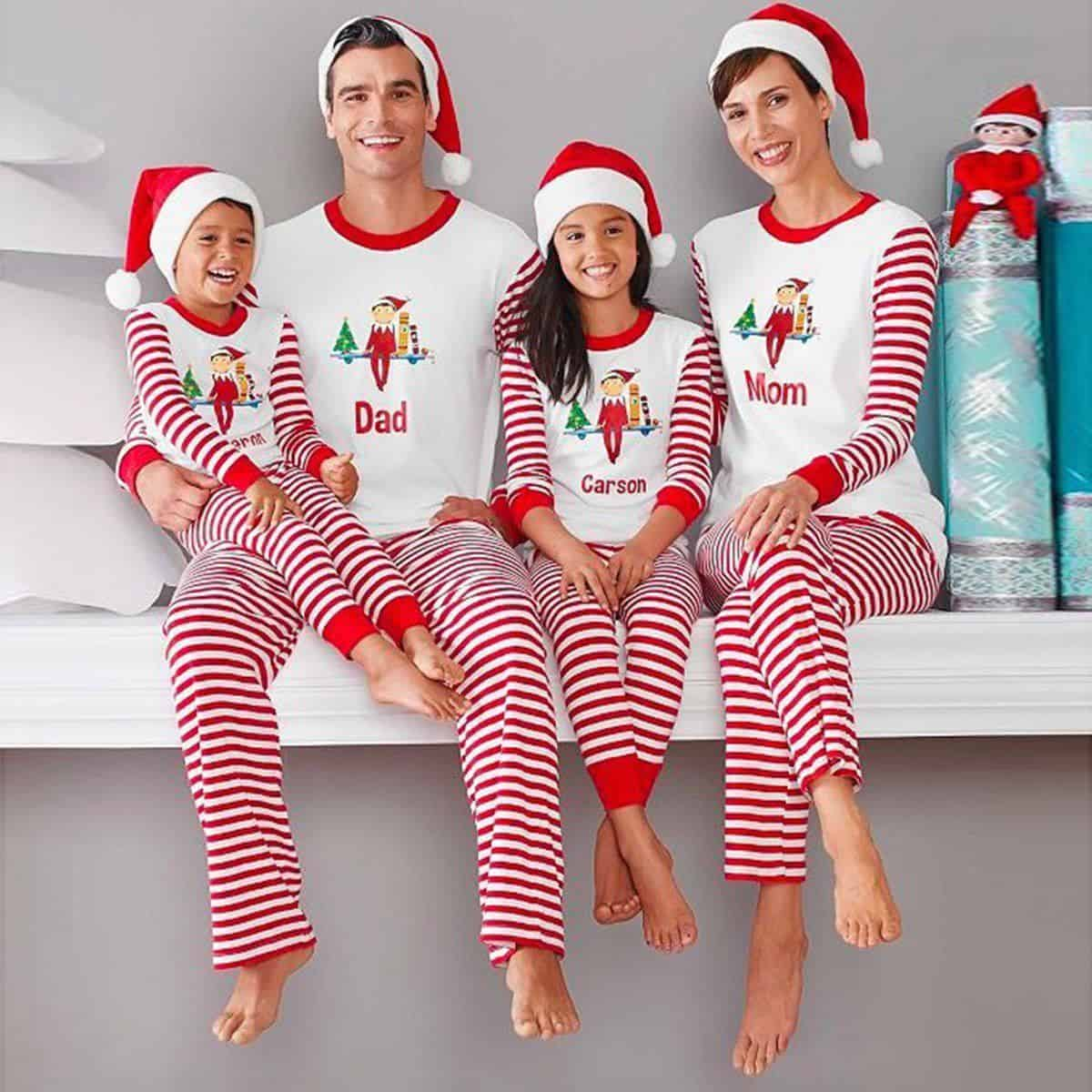 deb351a508fd 15 of the Best Matching Family Christmas Pajamas - DIY Candy