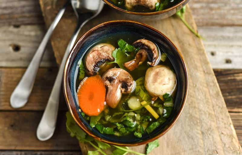 This easy Chinese vegetable soup is a perfect Asian twist on a tasty classic. It's one of our most popular recipes - healthy, comforting, and better than any canned soup out there.