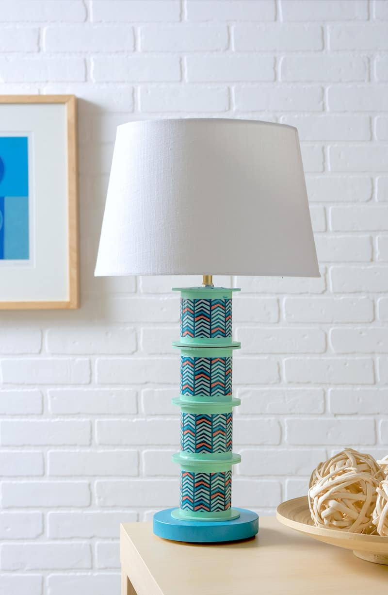 Learn how to make a lamp using just about anything!