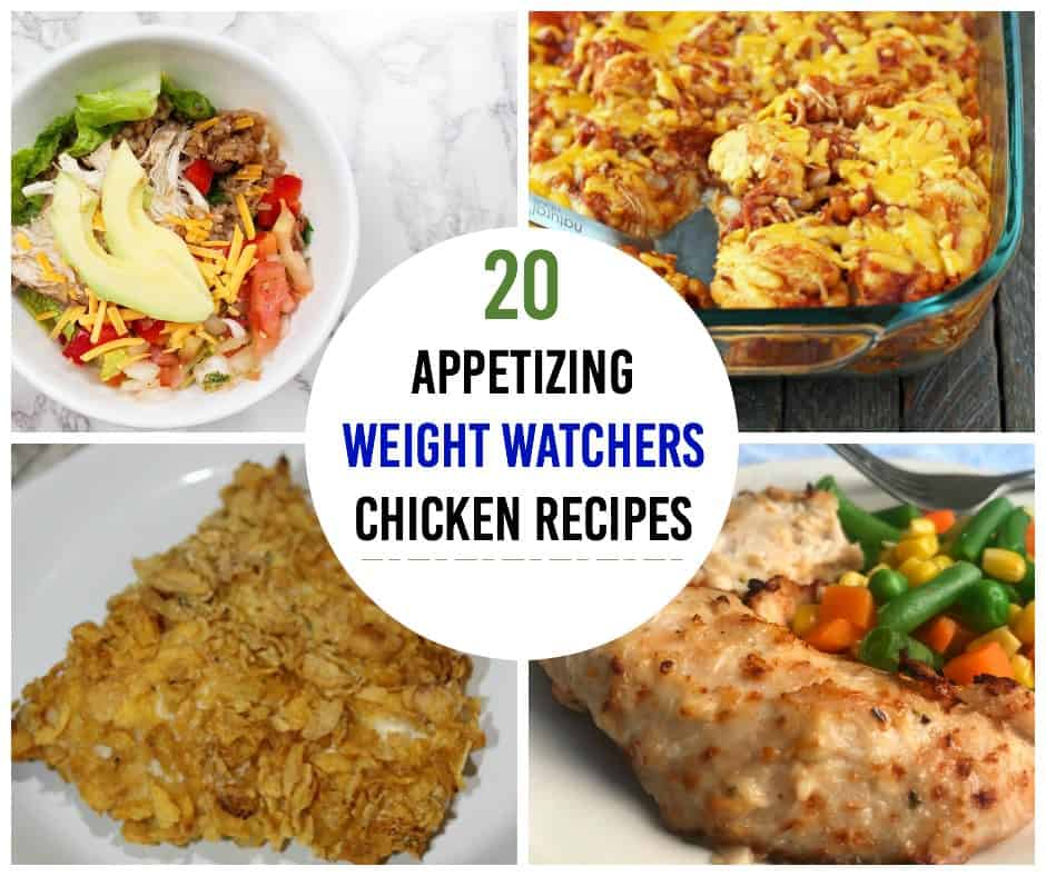 Chicken is ZERO points in the Weight Watchers Freestyle program! Use this delicious protein in one of these Weight Watchers chicken recipes. This is the ultimate list of tastiness!