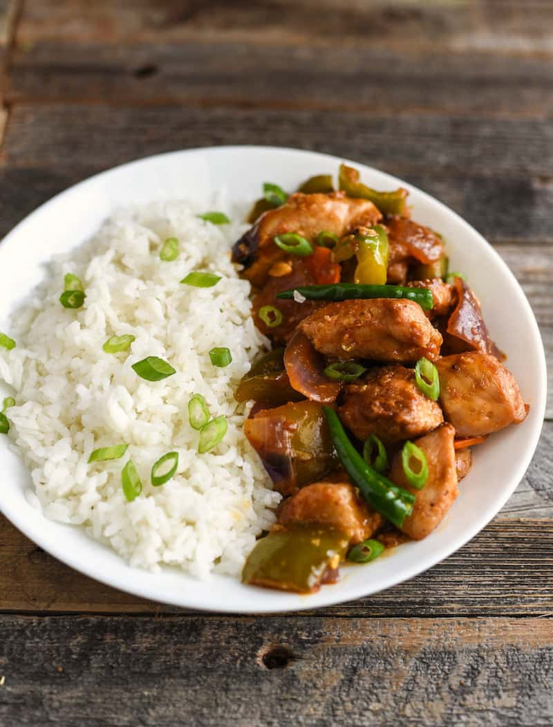 If you're a huge fan of Indo Chinese food, this chilli chicken recipe is going to be one of your favorites! It's perfectly spicy and really easy to make.
