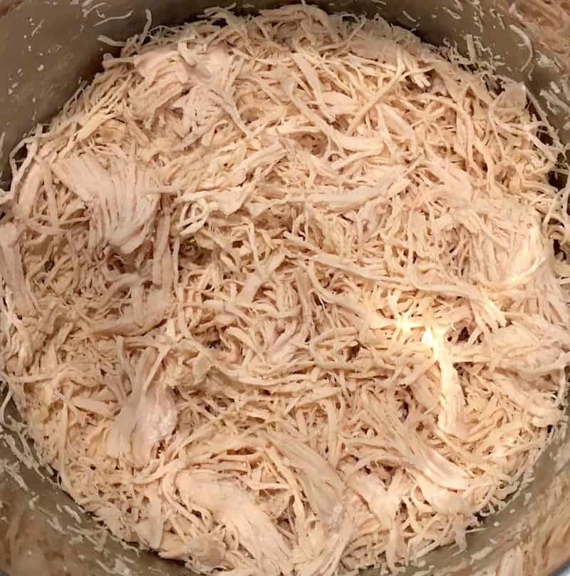 If you're looking for the EASIEST way to make Instant Pot shredded chicken, this is it! This simple technique will give you shredded chicken for all sorts of recipes.