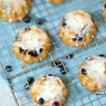 Lemon Blueberry Mini Bundt Cakes Recipe