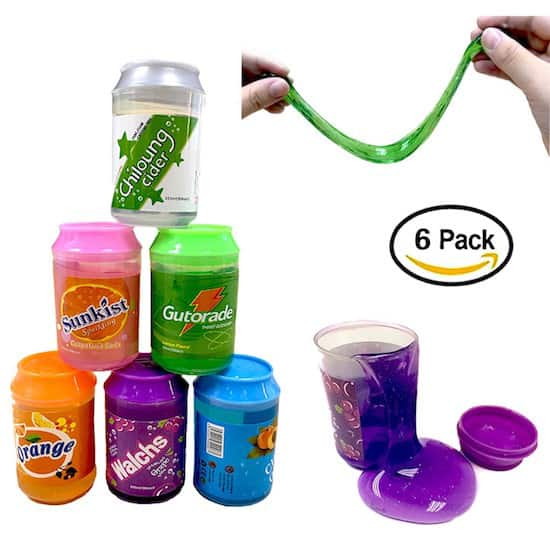 Slime, Magic Crystal Slime Putty Toy