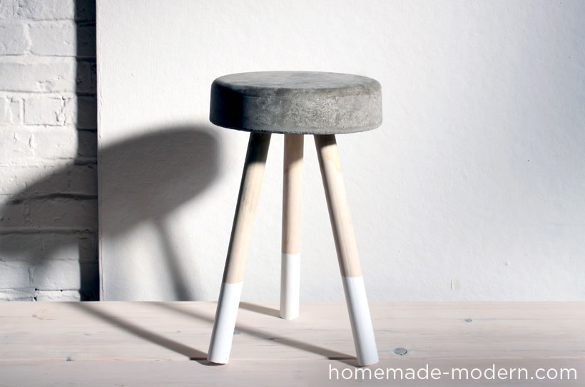 $5 concrete bucket stool