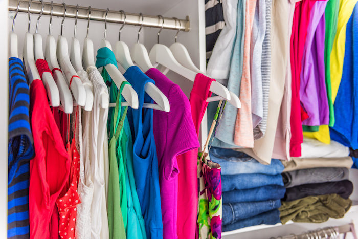 Closet organization - organizing tips