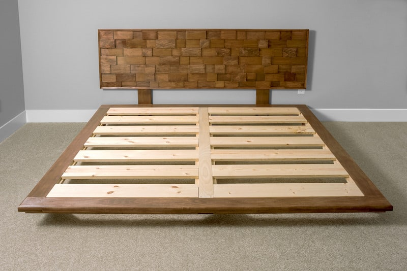 How to make a platform bed