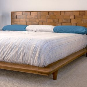 Beautiful and Modern DIY Platform Bed Frame