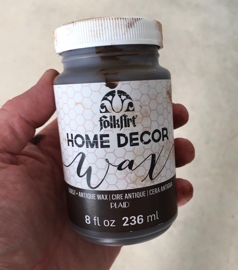 FolkArt Home Decor Chalk Wax in Antique