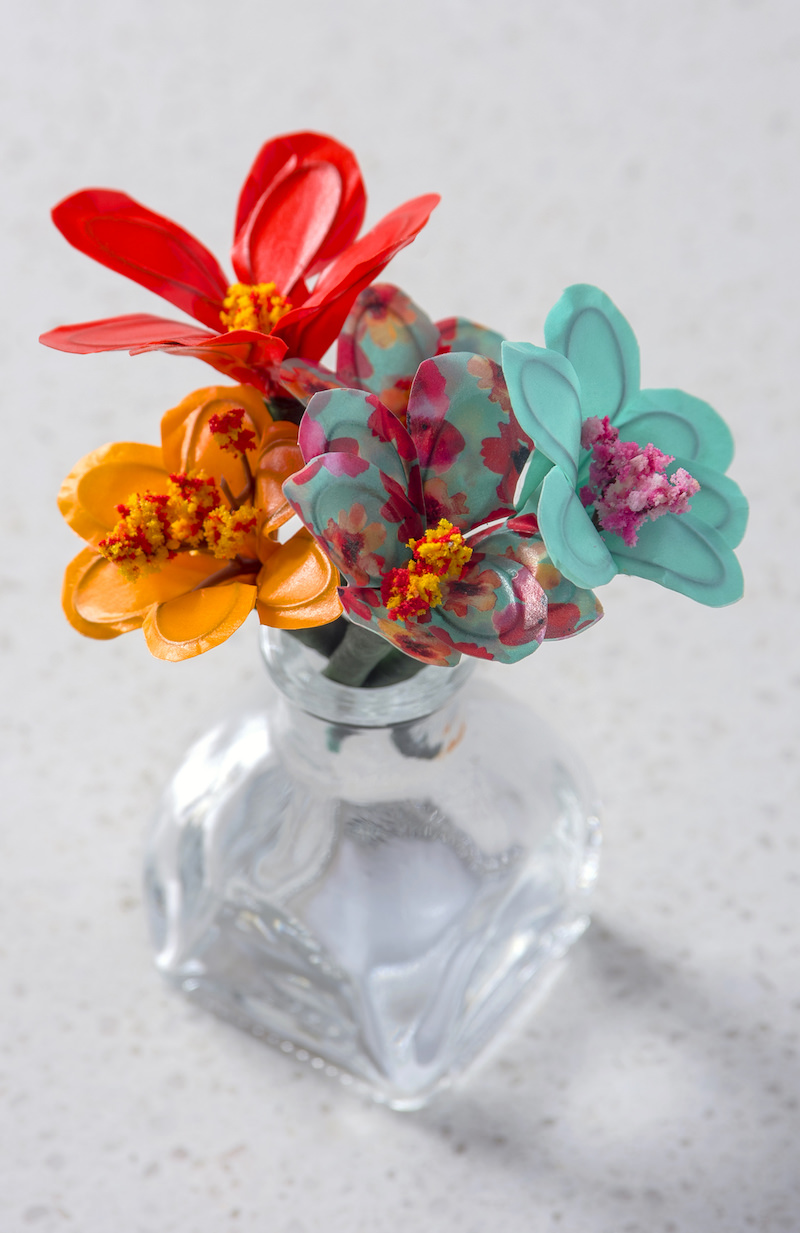 How to Make Washi Tape Flowers