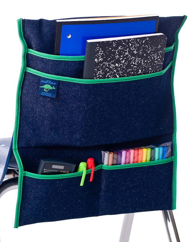 Aussie chair pocket for back to school
