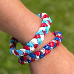 DIY bracelets for kids with Duck Tape
