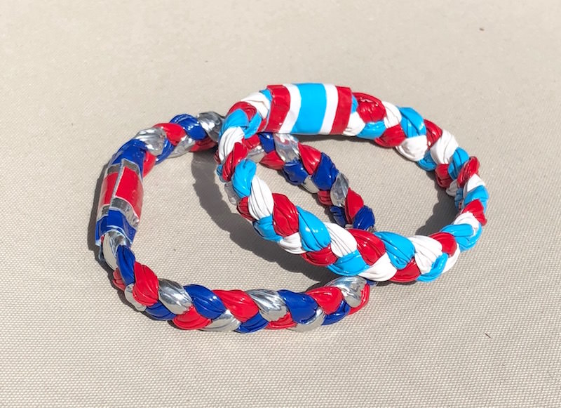 Handmade simple bracelets for kids