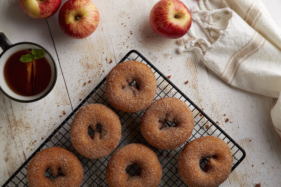 Delicious baked apple cider donut recipe