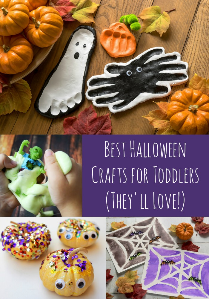 Best Halloween Crafts for Toddlers (They'll Love!)