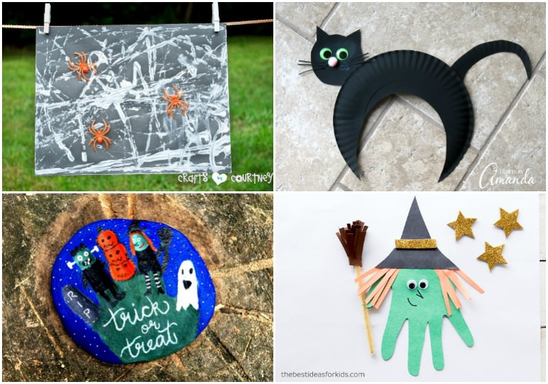 Halloween craft ideas for toddlers