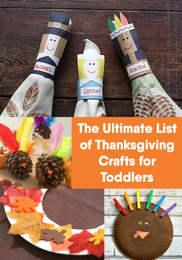 The Ultimate List Of Thanksgiving Crafts For Toddlers Diy