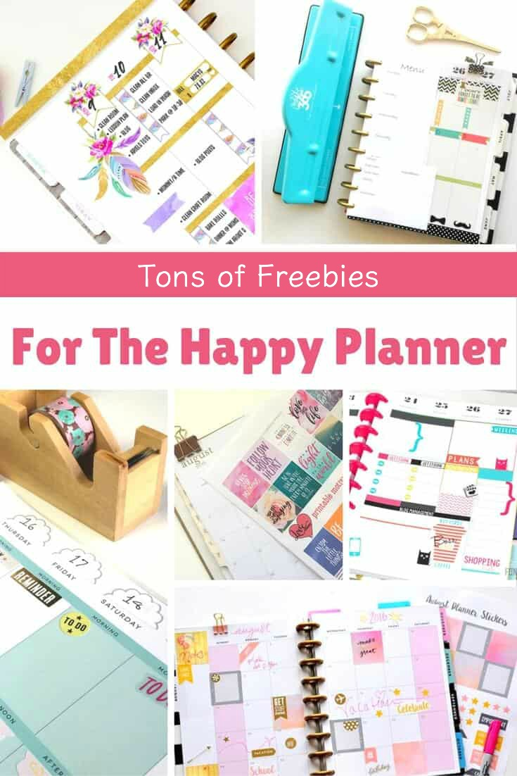 Awesome Happy Planner free printables