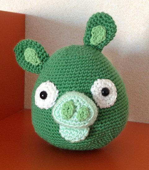 Angry Birds crochet pattern
