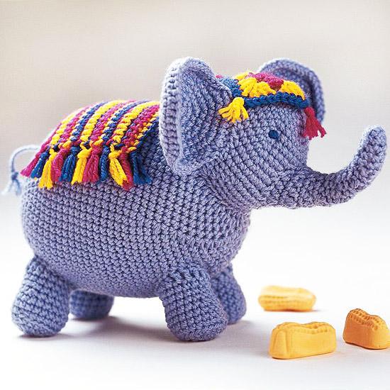 Circus Elephant Amigurumi