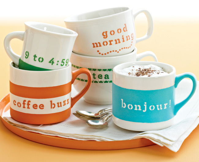 Cute Messages on Mugs