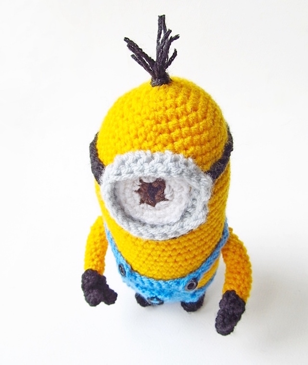 Despicable me minion amigurumi