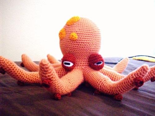 Free Amigurumi Octopus Pattern