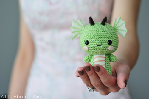 Little dragon amigurumi pattern