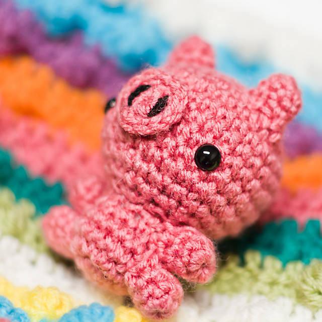 Mini Pig Amigurumi