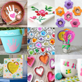 Mother's Day crafts for kids feature image