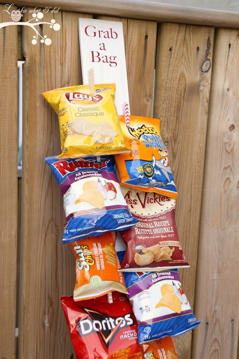 How to organize chips in a pantry