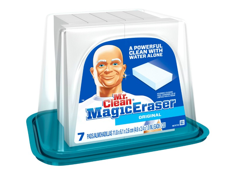 Use Magic Erasers to Remove Self-Tanning Streaks