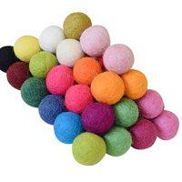 100% Wool Felt Balls