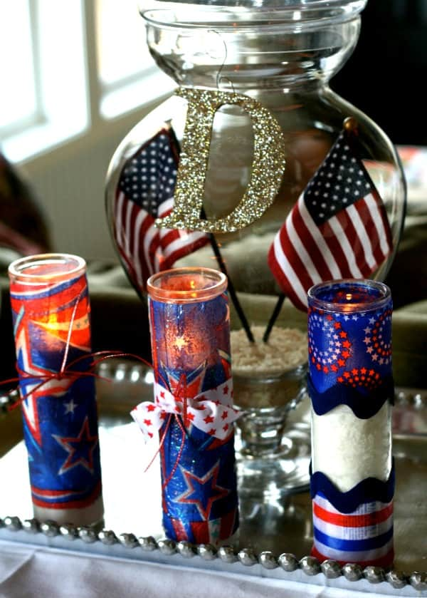Dollar-store-candles-for-fourth-of-july
