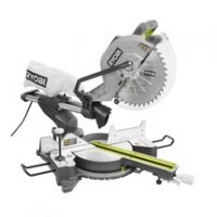 Ryobi Sliding Compound Miter Saw with Laser