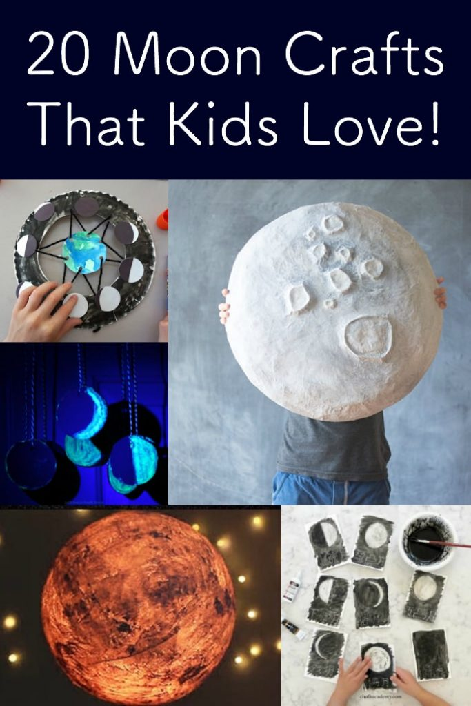 20 moon crafts for kids
