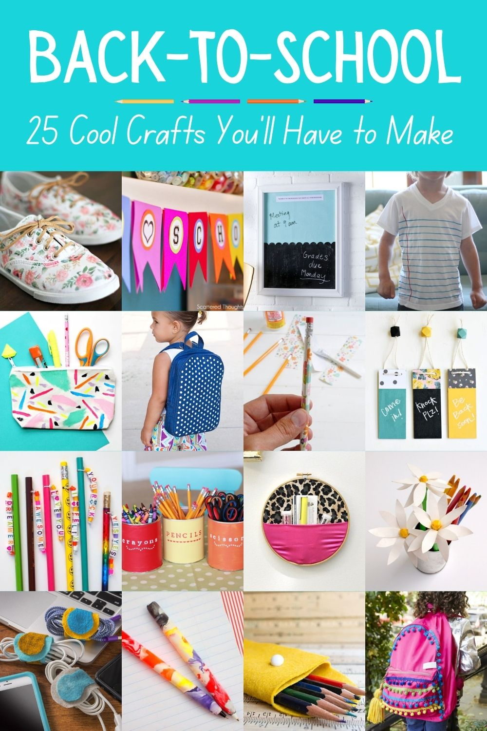 25 Back-To-School Crafts You'll Have to Make