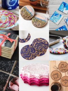DIY Coasters 40 fun projects to try now