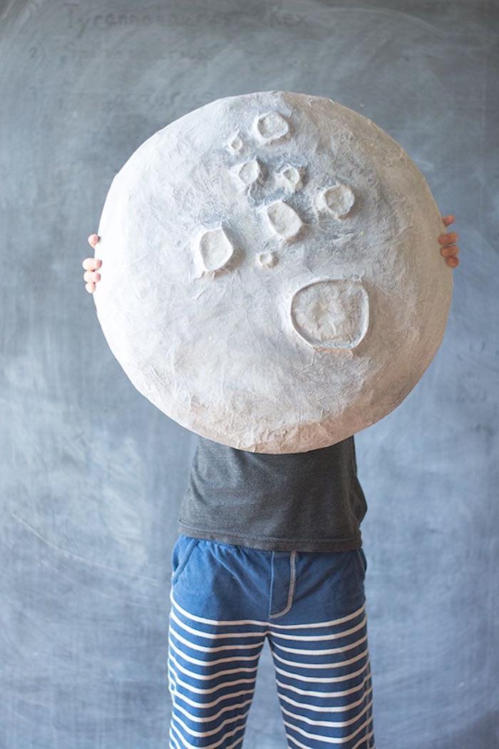 Giant Paper Mache Moon