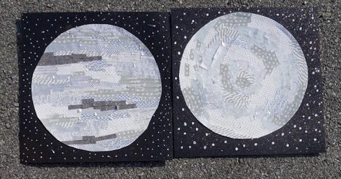 Washi Tape Moons