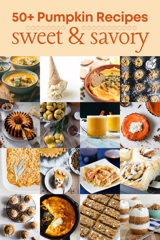 Over 50 Pumpkin Recipes to Enjoy this Fall