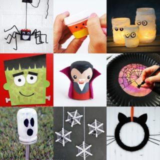 50 Halloween Craft Ideas for Kids