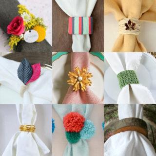 Over 20 DIY Napkin Rings