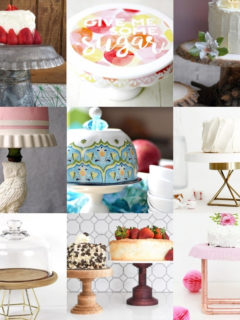 35 Festive DIY Cake Stands