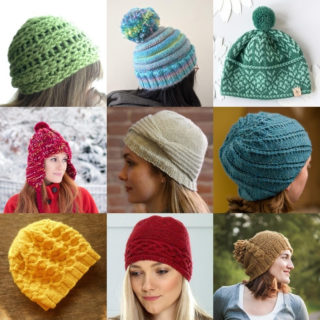 Over 20 free knitted hat patterns