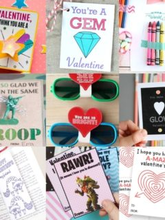 Over 40 Free Printable Valentines for the Classroom