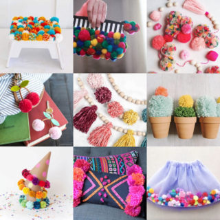 Pom pom craft ideas